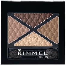 Rimmel Glam Eyes Quad Eye Shadow cienie do powiek 002 Smokey Brun 4,2g