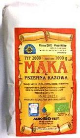 Eko Hillar Mąka pszenna razowa typ 2000 EKO 1Kg