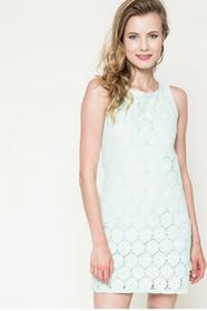Fresh Made Sukienka D6265U30105B miętowy