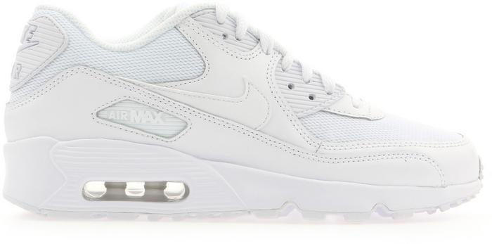 Nike Air Max 90 Mesh GS 833418 100 biały