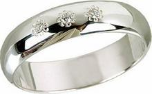 Tyfanit Obrączka srebrna z białymi cyrkoniami ST19a