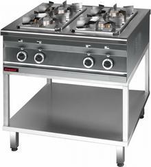 Kromet Kuchnia gazowa 4 - palnikowa 2,5 + 3 x 3,5 kW 000.KG-4s.T