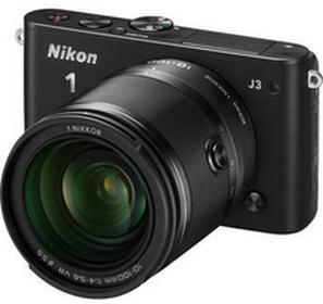 Nikon1 J3 + 10-100 VR kit czarny