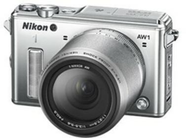 Nikon1 AW1 + 11-27.5 mm srebrny