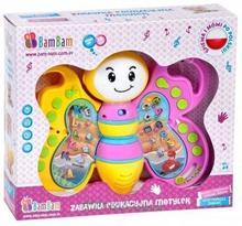 Bam Bam Zabawka edukacyjna Motyl 334781