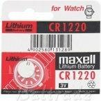 Opinie o Maxell Baterie litowa CR1220