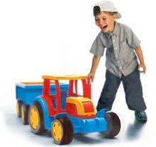 Wader Traktor Gigant z przyczep 66100