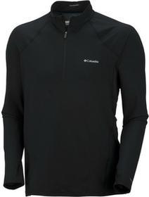 Columbia Sportswear koszulka termoaktywna Baselayer Half Zip Black (D/R