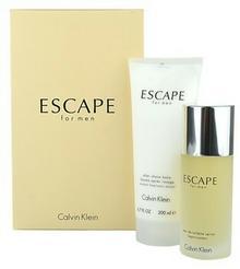 Calvin Klein Escape for Men woda toaletowa 100 ml + balsam po goleniu 200 ml