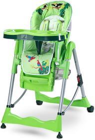 Caretero Krzesełko do karmienia Magnus Fun Green