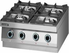 Lozamet Kuchnia gazowa 4 palnikowa (linia 650) LGH.400.3