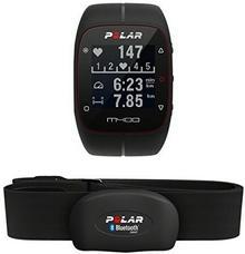 Polar M400 Zegarek Sportowy Z Funkcją Monitorowania Tętna, Czarny, 90051341