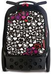 Nikidom Innowacyjny plecak szkolny na kółkach Basic Serca Cuore Roller 9015 wielokolorowy 2 kółka