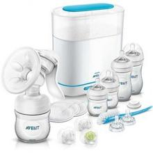 Philips Avent Zestaw startowy linii Natural z sterylizatorem 3w1 All in One