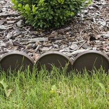 Prosperplast Palisada ogrodowa obrzeże 10m x 9cm Garden Line Ciemny Brąz IKRA II