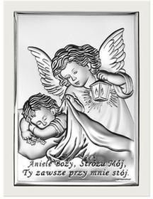 Beltrami Obrazek Anioł w białej oprawie -(BC6442W)
