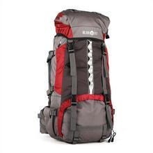 Klarfit Heyerdahl plecak trekkingowy 70L system X-Transition ładowany od góry czerwony BP1-Heyerdahl-R