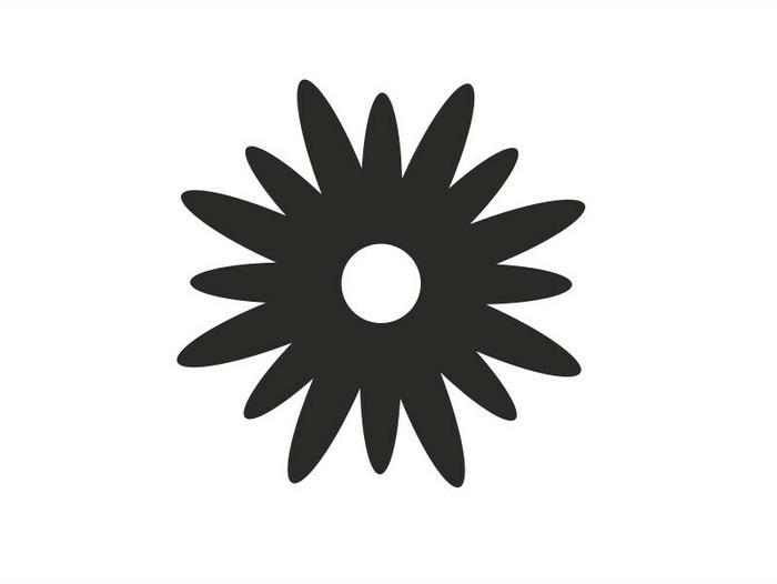 Naklej-to.pl Kwiatek 5 kwiatek05