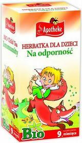 APOTHEKE Herbata dla dzieci Na Odporność - - 20x1,5g 05BD-82945
