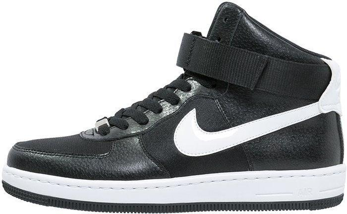 nike air force 1 mid czarno biale