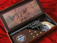 Hiszpania COLT PEACE MAKER 1873r SINGLE ACTION ARMY CAL 45 stalowy jasny