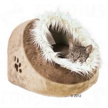 Trixie Minou Budka dla kota - Dł. x 41x35x26 cm beżowo/brązowa