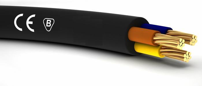 Eltrim Przewód kabelkowy YLY 3x2,5 żo 0.6/1kV 1123-324CF-YY002