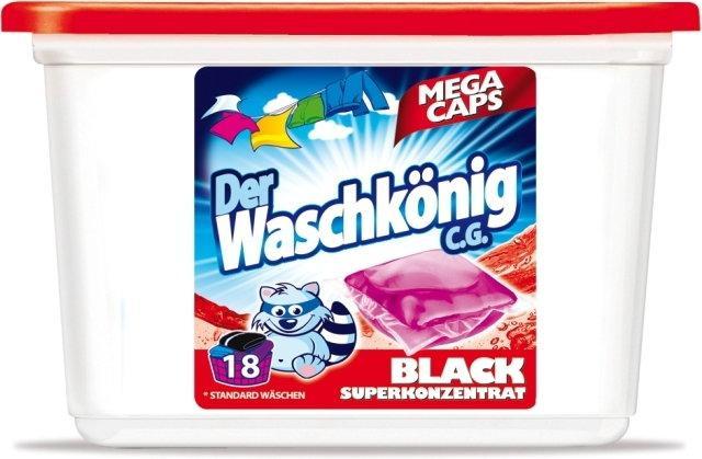 Waschkonig Kapsułki do prania Black 18 szt.