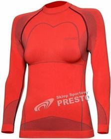 Spaio Koszulka termoaktywna damska Thermo W03 - koralowy