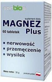 Sanbios Magnez Plus 60 szt.