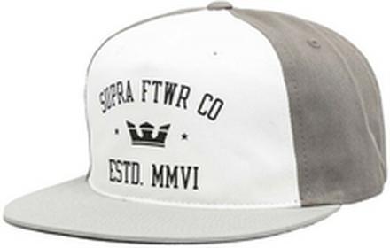 Supra czapka z daszkiem Contender Silver/Grey 041)