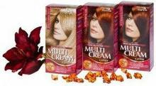 Joanna Multi Cream 3D 43 płomienny rudy