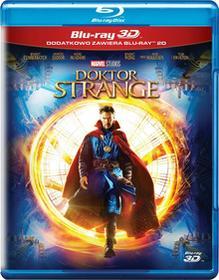 Doktor Strange 3D Blu-Ray) Scott Derrickson