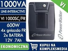 PowerWalker VI 1000 SC/FR