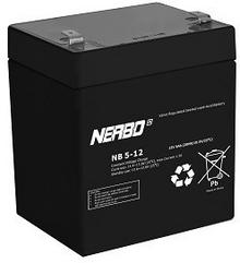 APC Bateria do i UPS Nerbo 12V5,0Ah NB12V-5