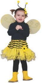 FUNNY FASHION Strój karnawałowy - Spódnica BabyPszczółka 409304
