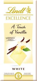 Lindt Excellence A Touch of Vanilla White 100g