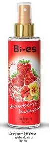 Bi-es Strawberry Hibiscus Mgiełka do ciała 200ml