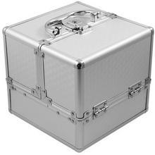 INTER-VION 499560A Kuferek KOSTKA aluminium 18x17x18cm