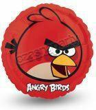 balon foliowy ANGRY BIRDS 18 1szt. czerwony