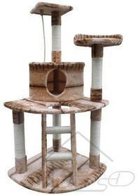Drapak dla kota legowisko drzewko domek 120 cm V_122050828