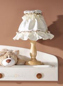 Mamo-Tato Lampka nocna Miś z serduszkiem Ecru