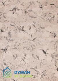 DywanWdomu.pl Dywan Lounge Cosy kwiaty szary 140x200 prostokąt