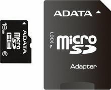 A-Data micro SDHC Class 10 (+ adapter) 16GB
