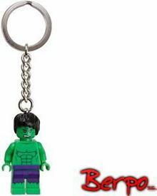 Lego 850814 Super Heroes Breloczek - The Hulk L.850814