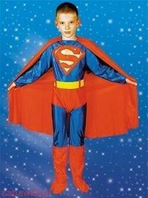 Sezamik STRÓJ karnawałowy Superman Superczłowiek 0266