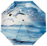 Opinie o Galleria Parasol składany automatyczny Mewy nad oceanem 33026 wielokolorowy