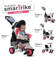 Smart Trike Deluxe pojazd/rowerek różowy