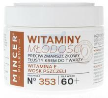 Mincer Pharma Witaminy Młodości 60+ Przeciwzmarszczkowy tłusty krem do twarzy 50 ml