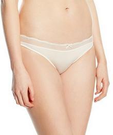 Tommy Hilfiger Majtki Beauty bikini dla kobiet, kolor: biały, rozmiar: 38 (rozmiar producenta: MD)